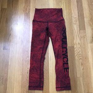 Lululemon for SoulCycle leggings